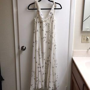 Maxi Dress - Bird Print